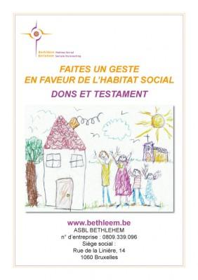Faire un don en faveur de l'habitat social