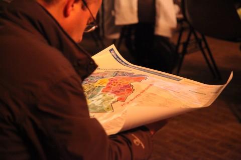 Carte des Unités pastorales francophones à Bruxelles